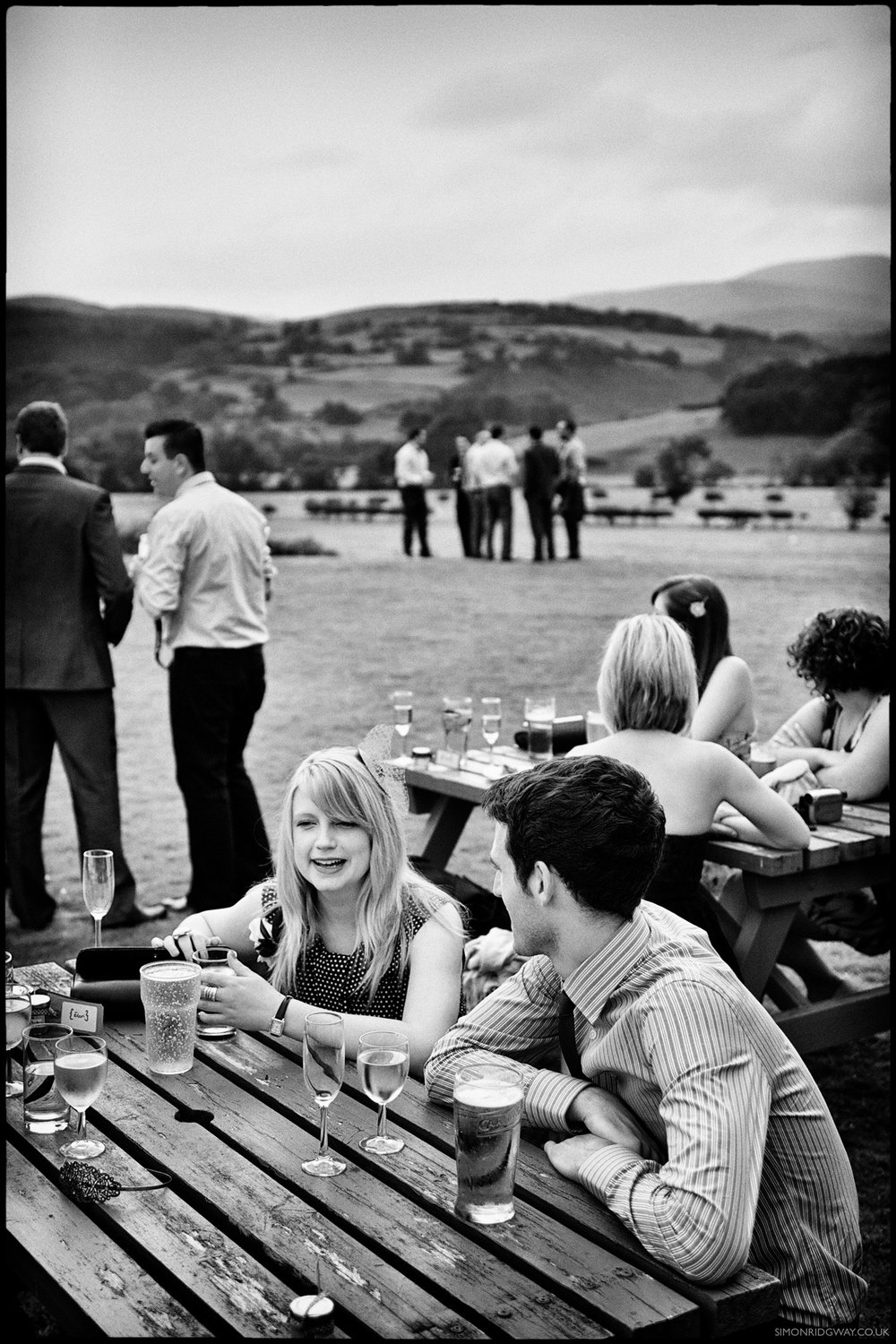 Reportage Wedding Photography, Machynlleth, North Wales