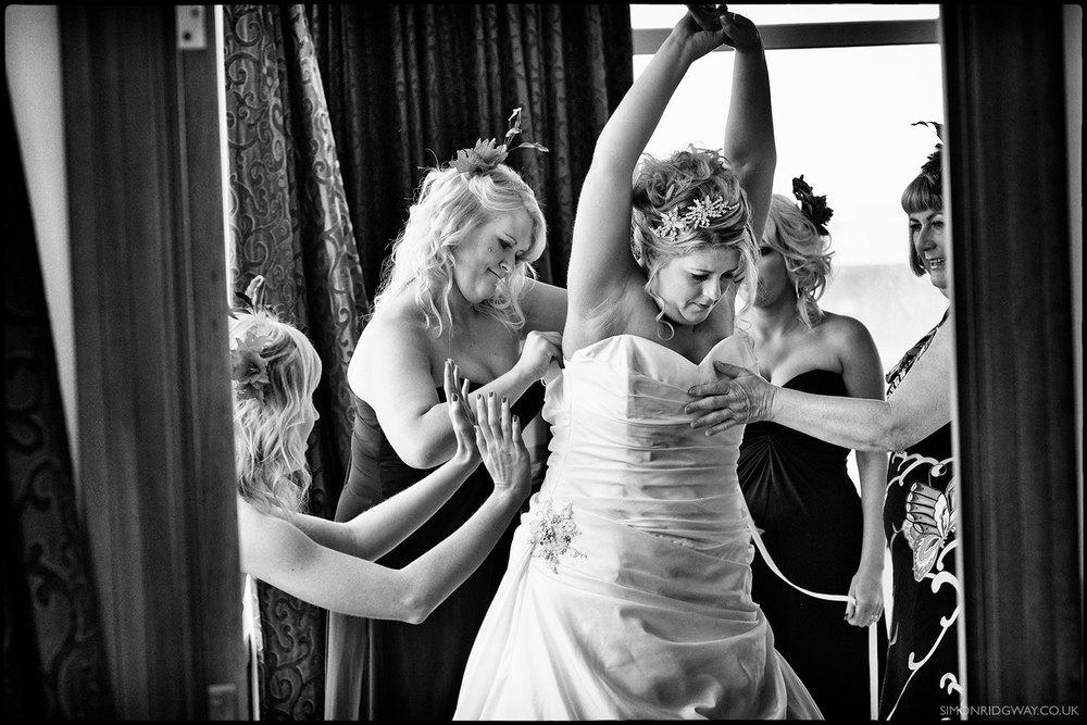Documentary Wedding Photography, Mecure Hotel, Cardiff
