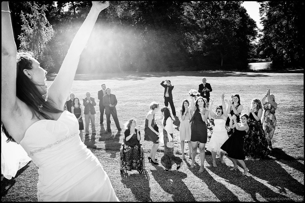 Documentary Wedding Photography, Warbrook House, Berkshire