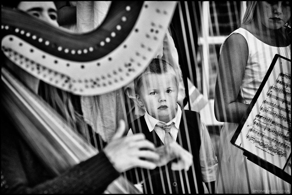 Wedding Photojournalism, Llansantffraed Court, Wales