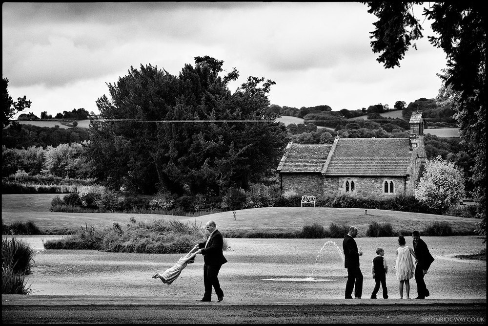 Reportage Wedding Photography, Llansantffraed Court, Wales