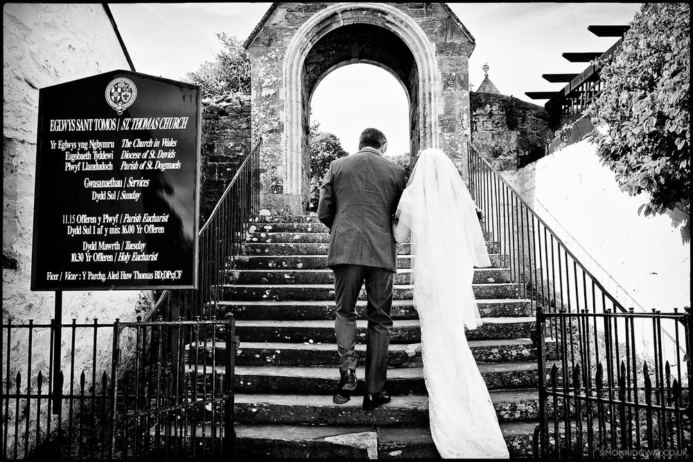 Documentary Wedding Photography, St. Dogmael's, West Wales