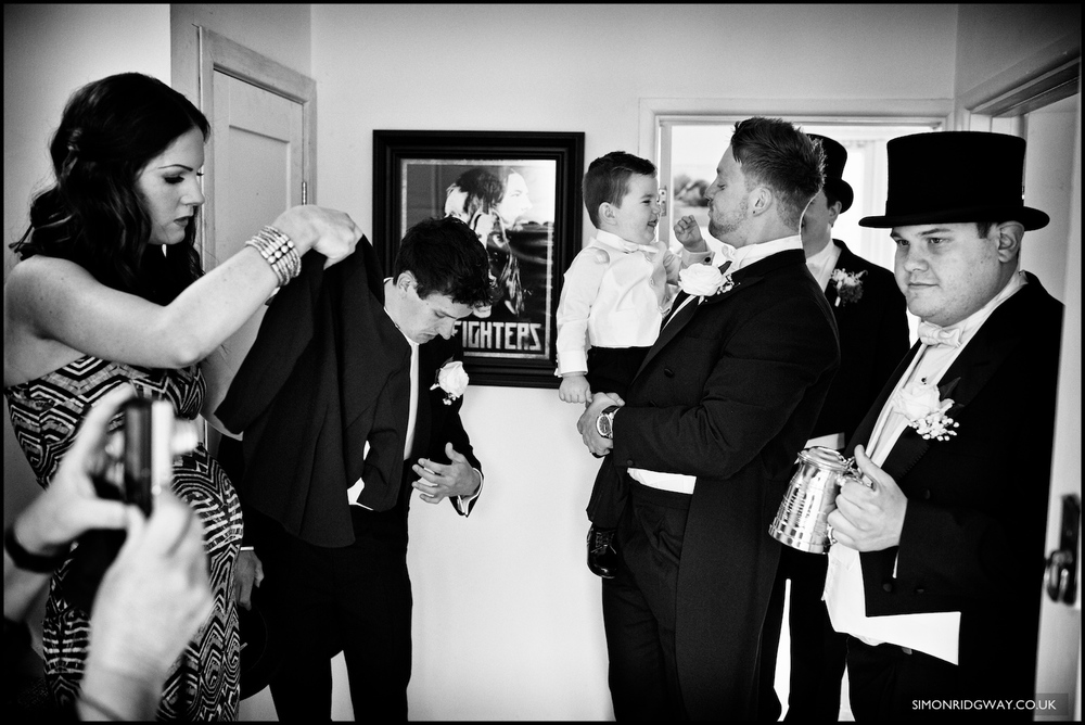 Documentary wedding photography in Wales