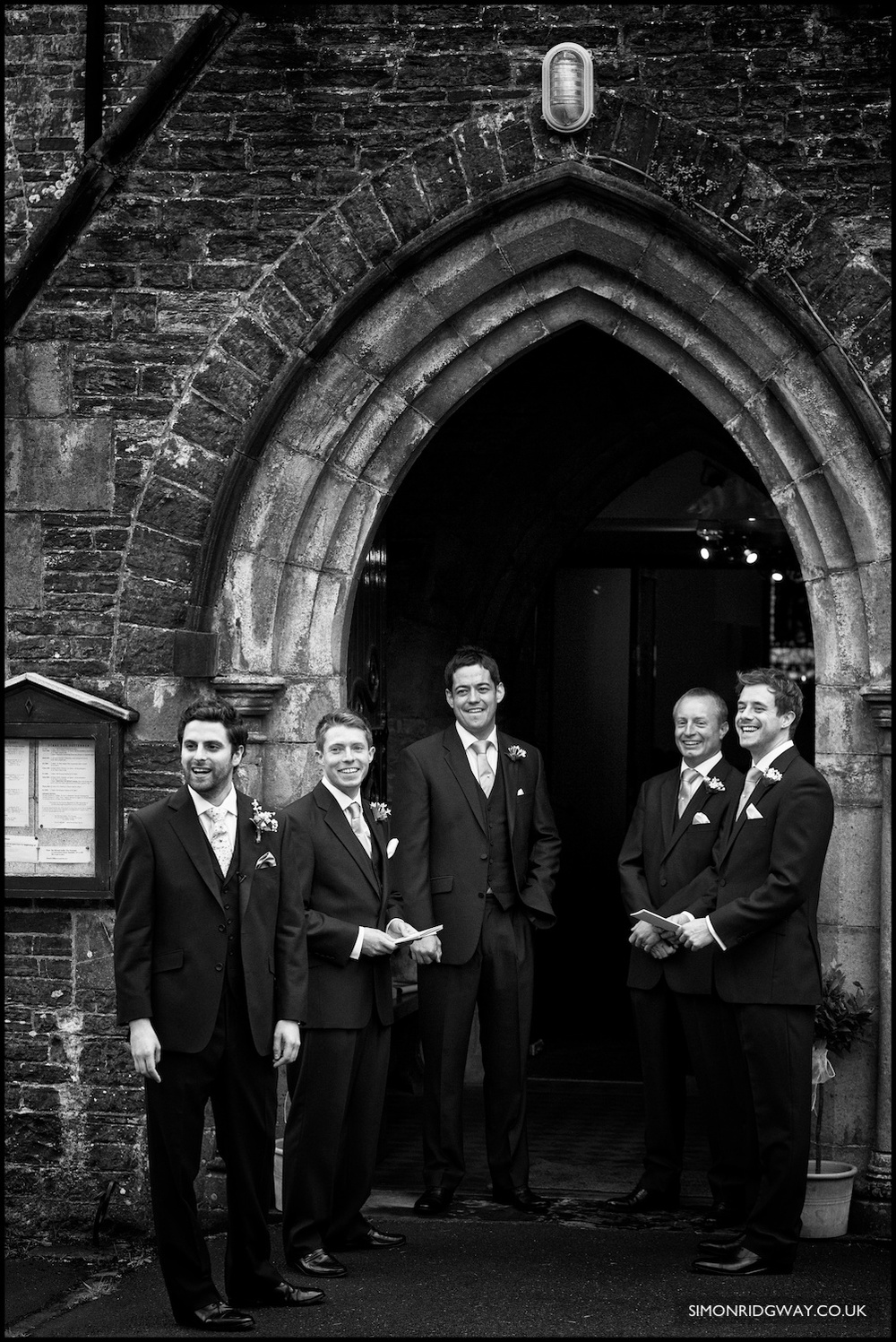Documentary wedding photography in West Wales
