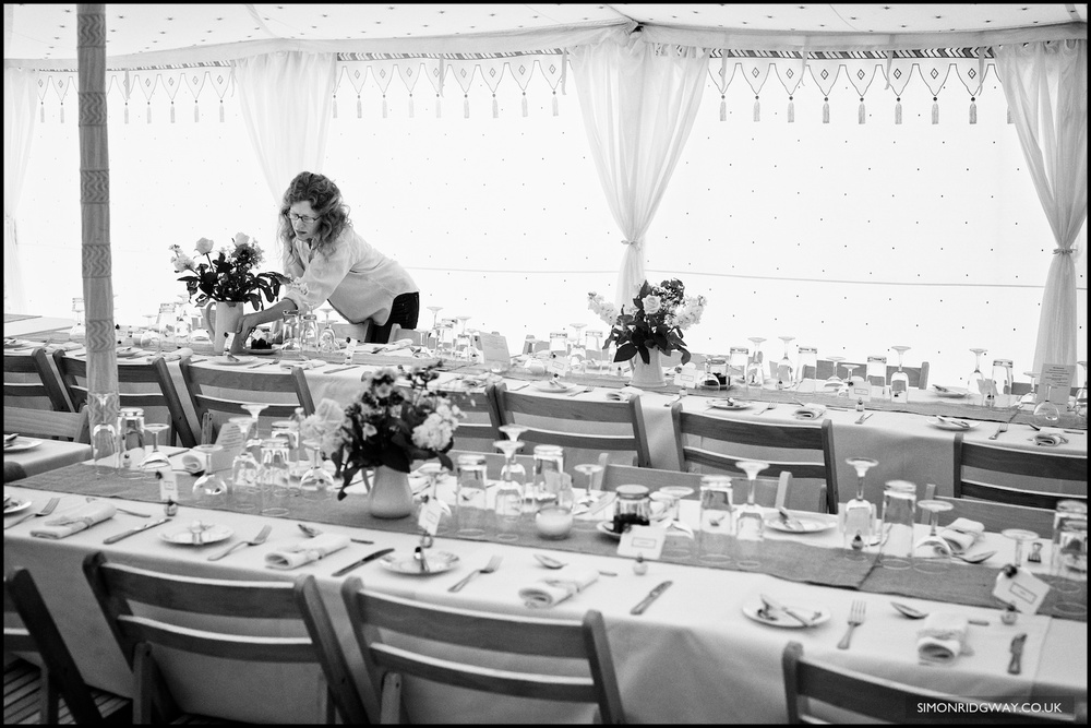 Documentary wedding photography in Staffordshire