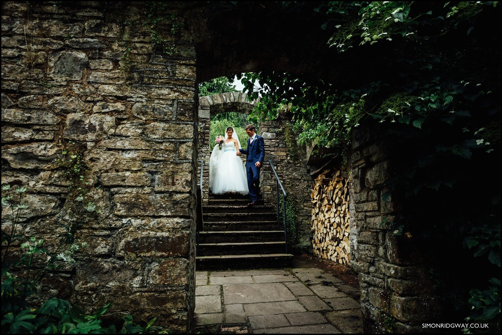 Wedding photography at Penpont, Brecon