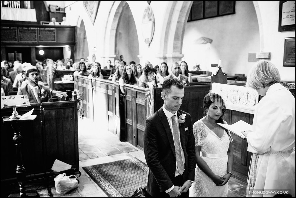 Wedding photography at Ufton Court, Berkshire