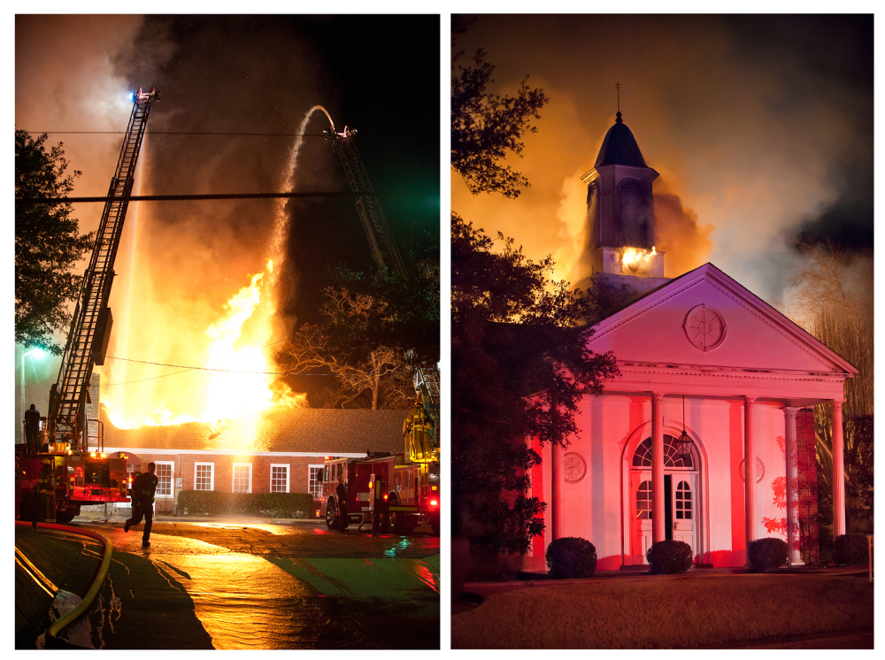Church arson in Tyler, Texas