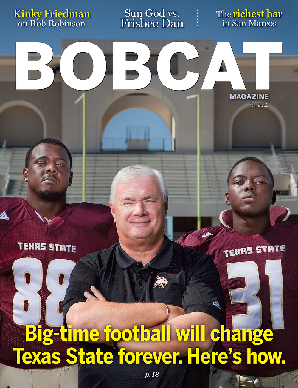 Bobcat Magazine Cover Fall 2012