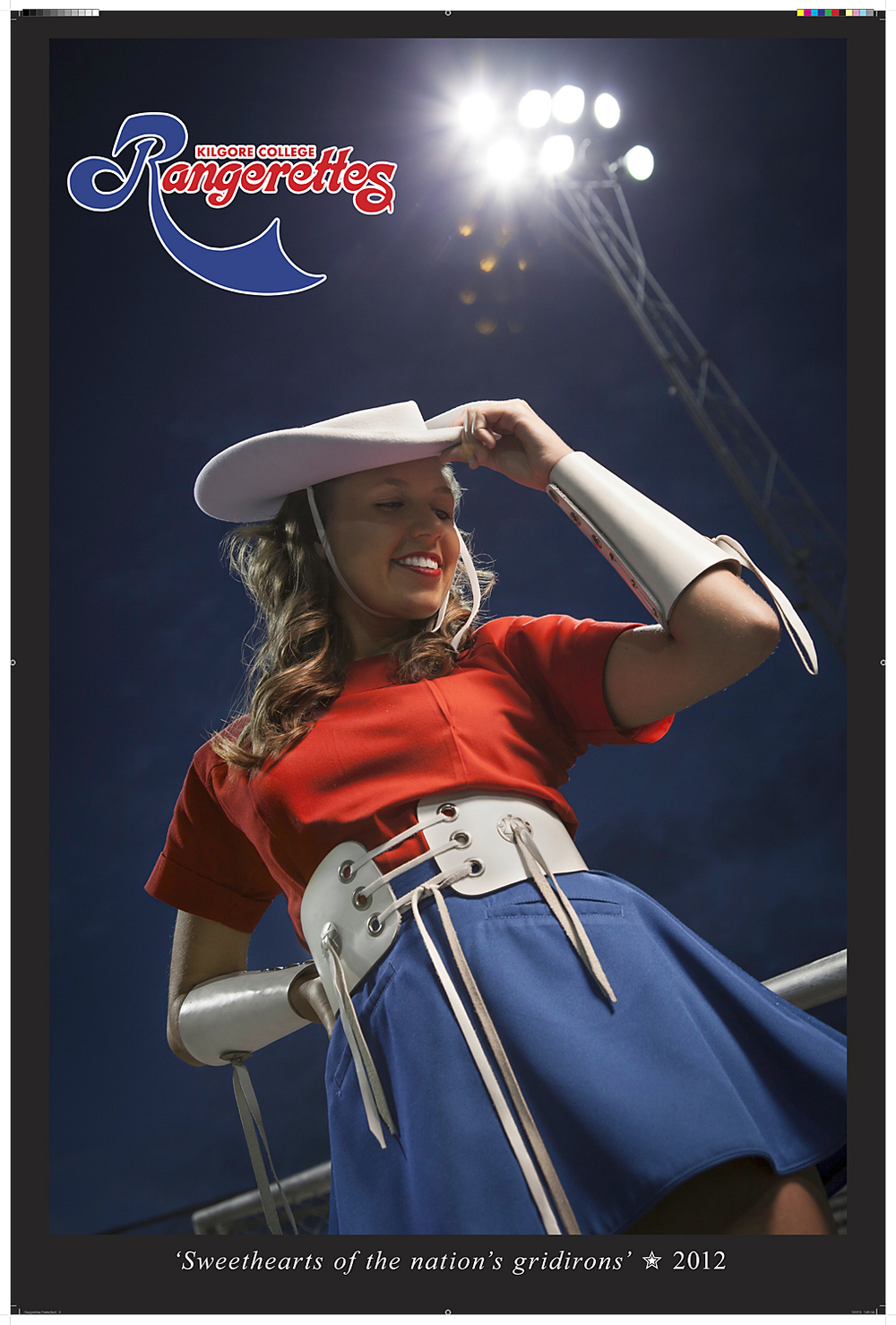 Rangerettes Official Poster 2012