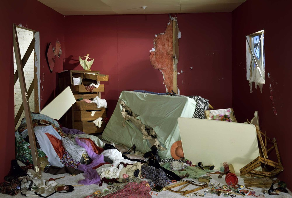 The Destroyed Room, 1978. Jeff Wall.