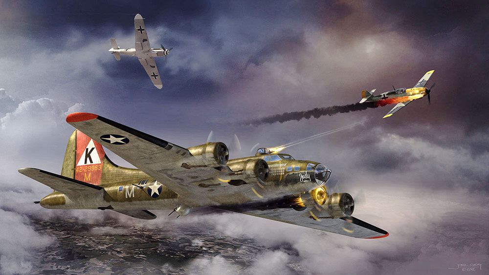 "B-17 Flying Fortress ""Judy"""