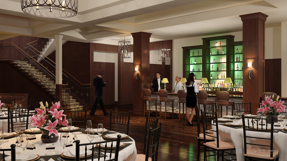 Project:  The Pinery at the Hill (Interior) Client:  Art C. Klein Construction & The Pinery Enterprises