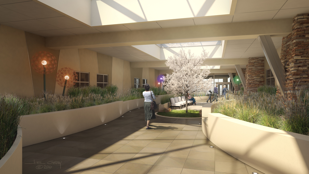 Project: St. Francis Medical Center - Wellness Garden Client: RTA Architects
