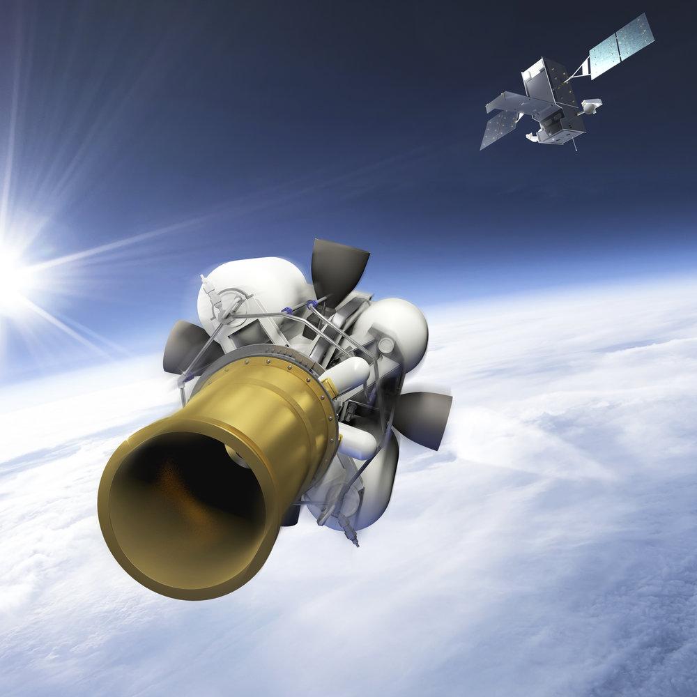 Project: EKV with STSS Satellite (3D digital assets, rendering) Contribution: Concept development, art direction, 3d modeling, lighting, texturing, matte painting