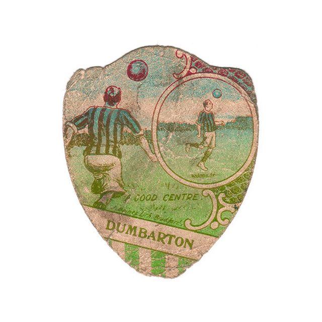 #jbaines #jbainescard #dumbarton #footballcard #vintagefootball