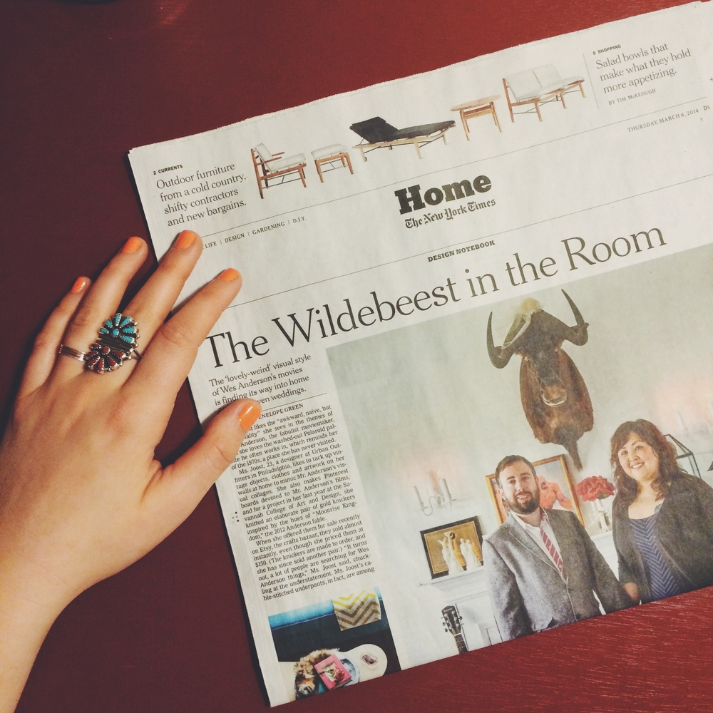 New York Times:  The Wildebeest in the Room