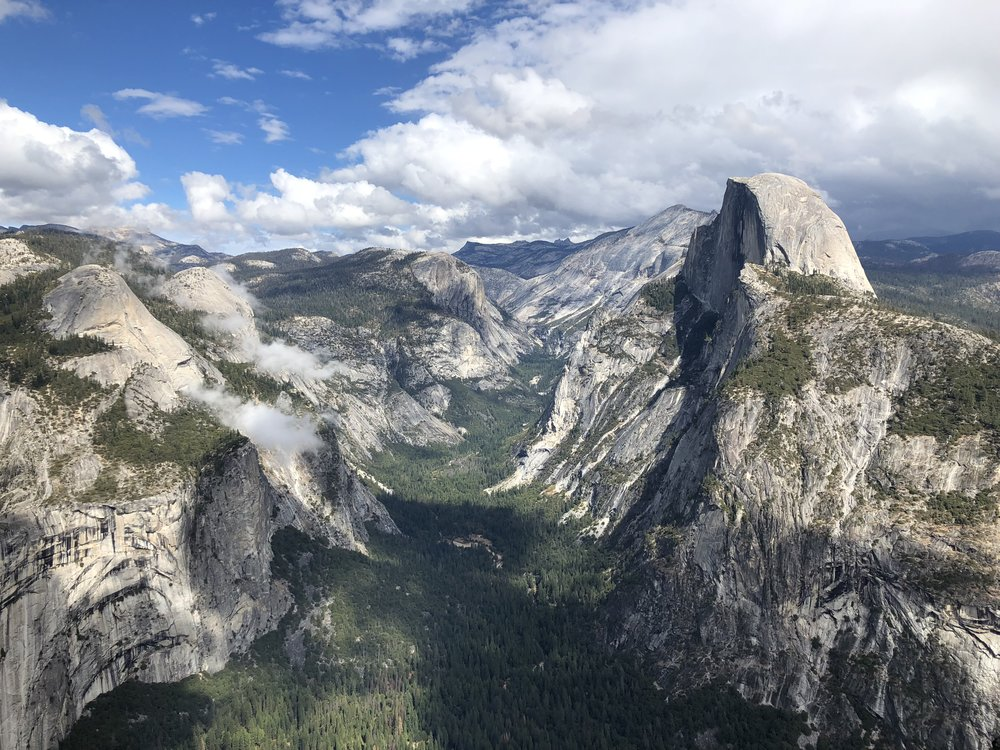 Sentinel Dome, Glacier Point, and Taft Point -