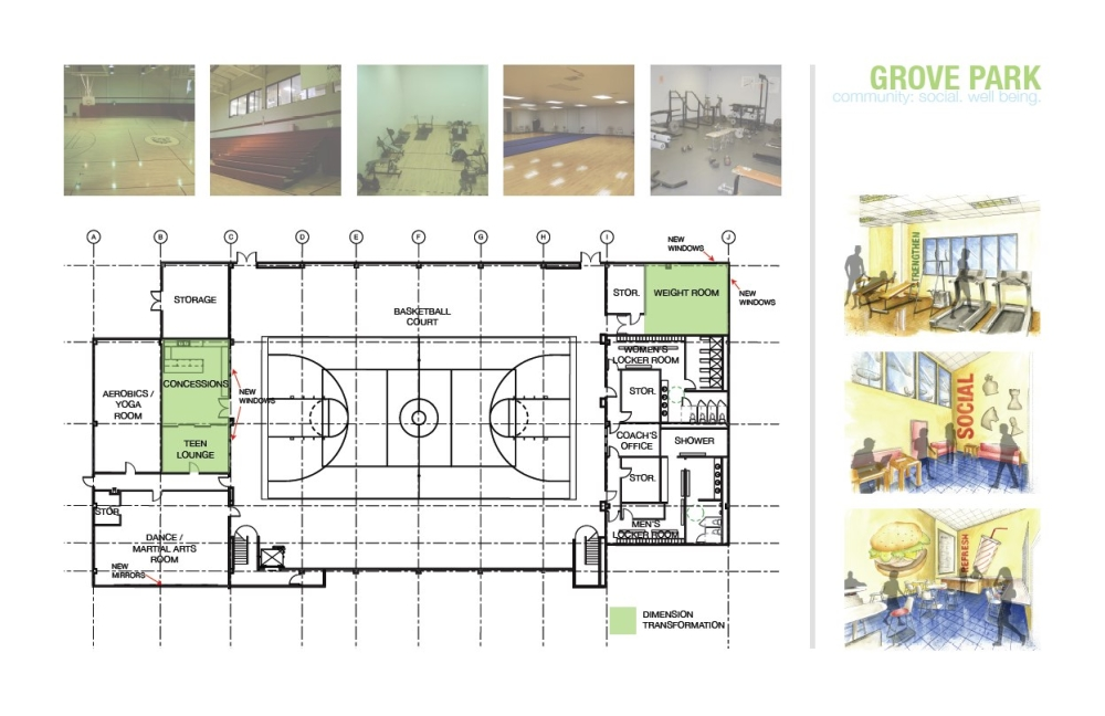 82 yoga room plan listing 240 west 21st street douglas for Basketball floor plan