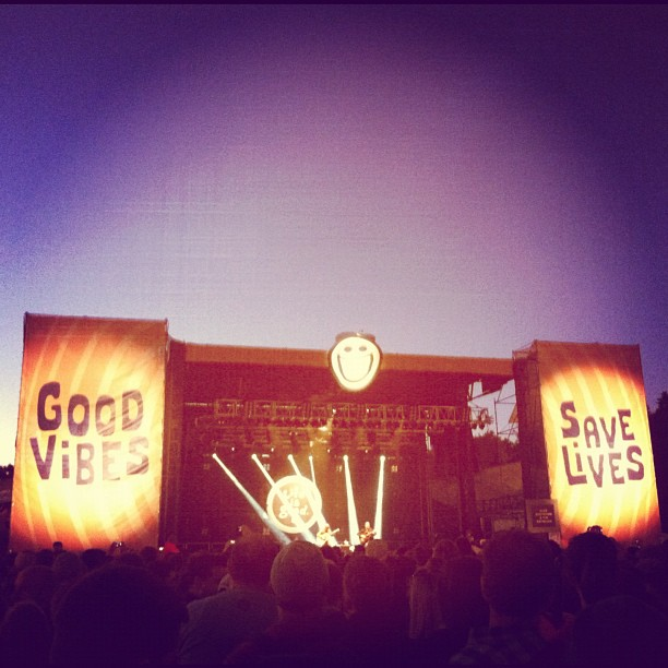 The closing act was Dave Matthews at dusk... the perfect end to a long, fun summer.