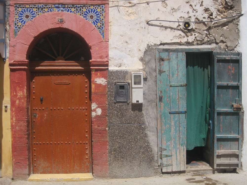 A door photographed during Catherine's recent  travels in Morocco