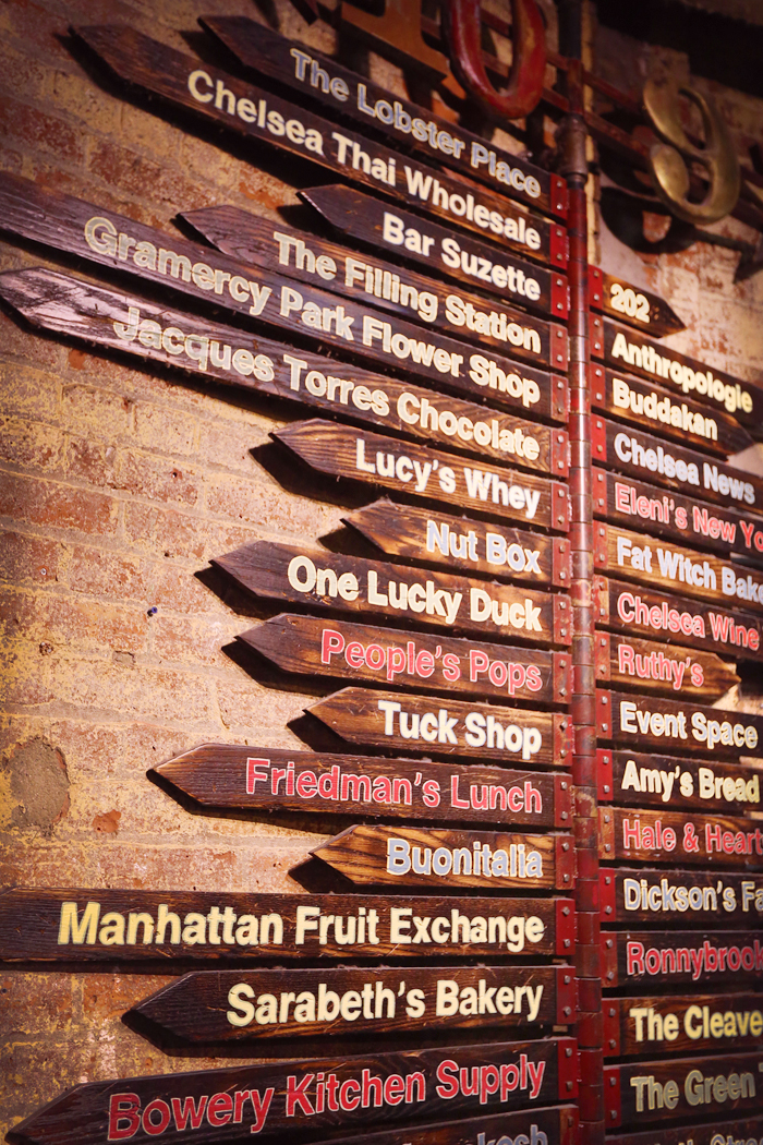 Chelsea Market.. possibly the most visually interesting place I have ever been.