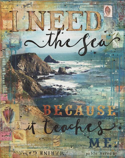 """I Need The Sea"" by Mae Chevrette"