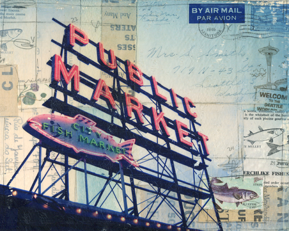 Pike Place No. 1 by Mae Chevrette