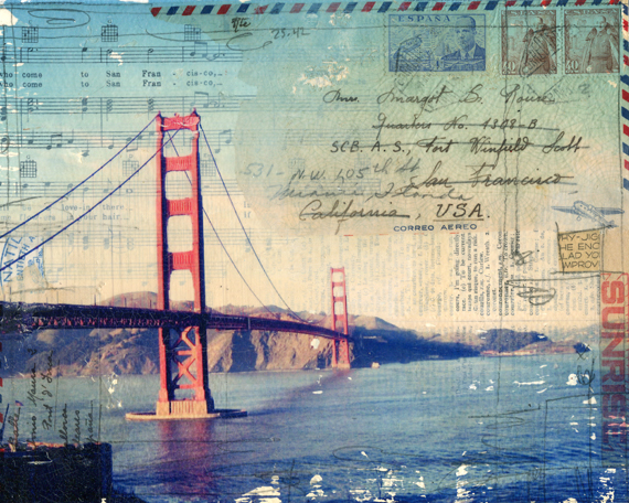 Golden Gate No. 2 by Mae Chevrette