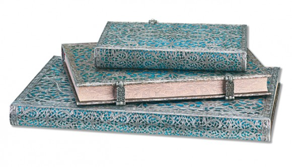 paper blanks silver and teal journal.jpg
