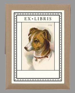 cavallini book plates dog.jpg