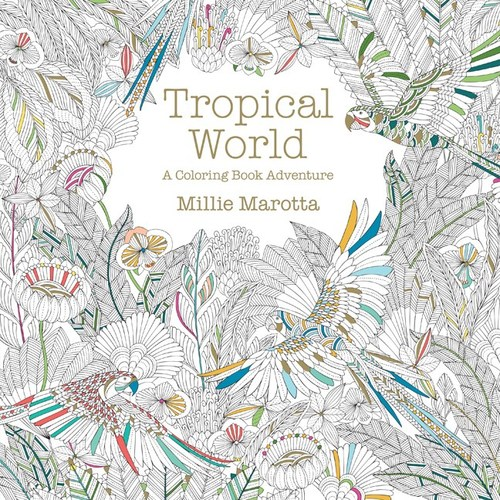 Sterling Tropical Coloring Book