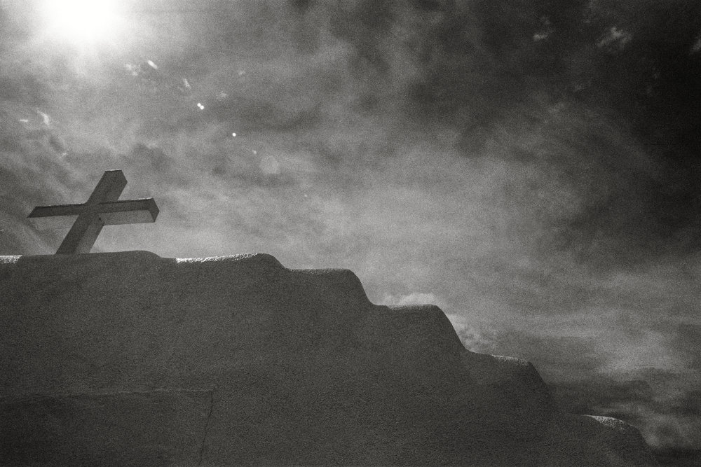 CLICK on Photo: New Mexico 2018 - Pueblo Mission Study Taos Pueblo, New Mexico 2018 (Ultra Max 400 BW Film)