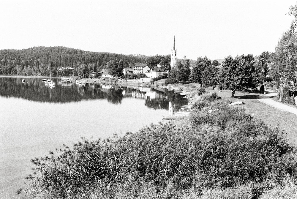 CLICK on Photo: Frymburk, Czech Republic 2017 (Eastman Double-X/5222)