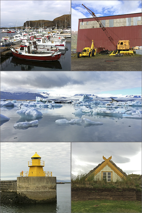 Inspiration images from Iceland