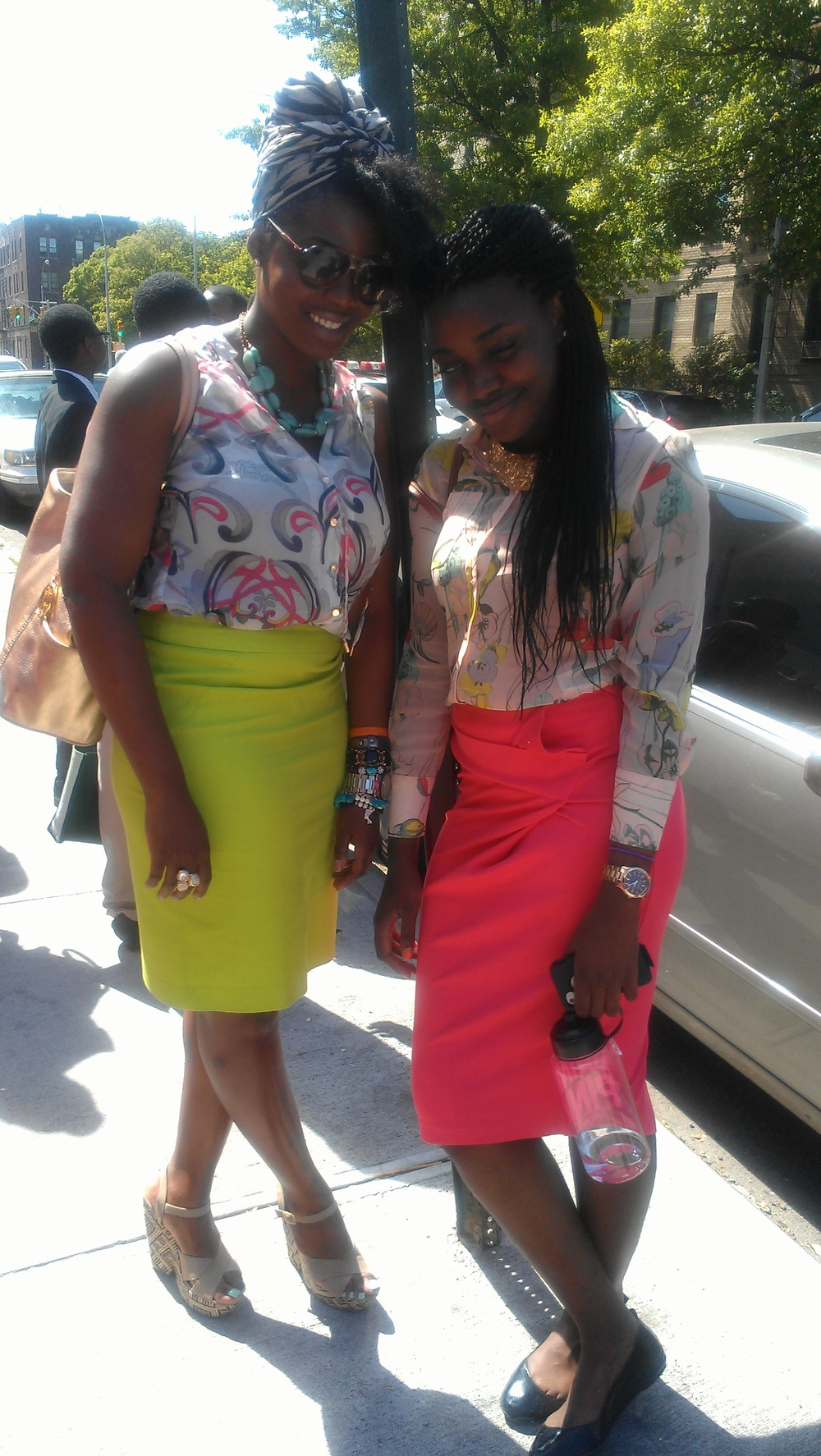 I absolutely love this mentor(left) mentee(right) duo!