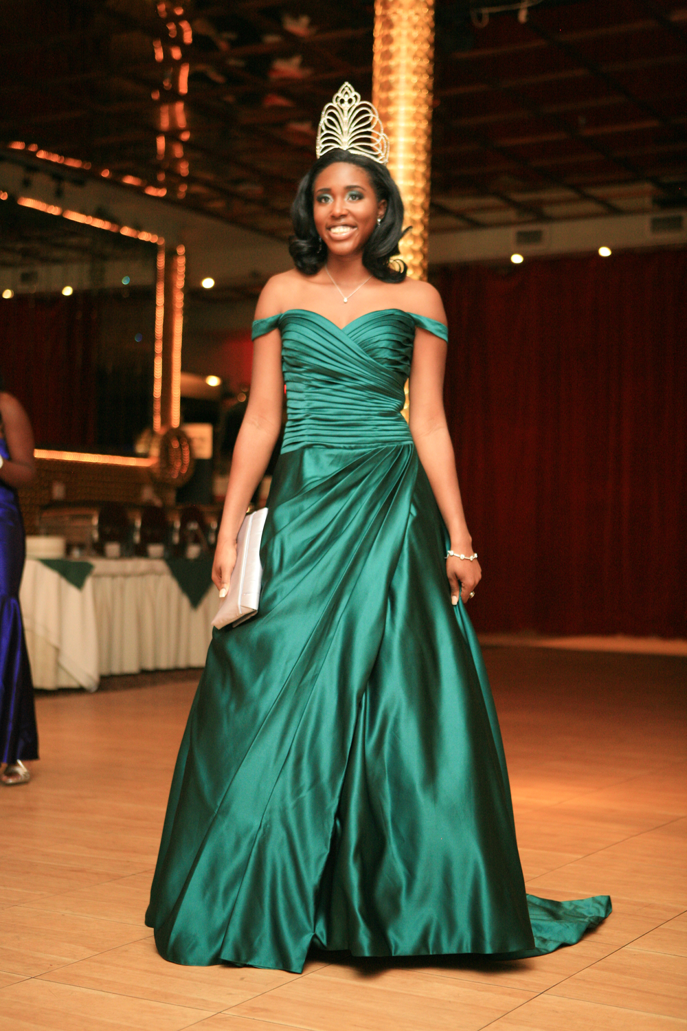 An old shot of me when I was Miss Nigerian Independence