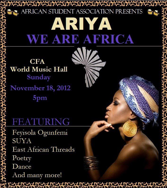 Ariya 2012 at Wesleyan University