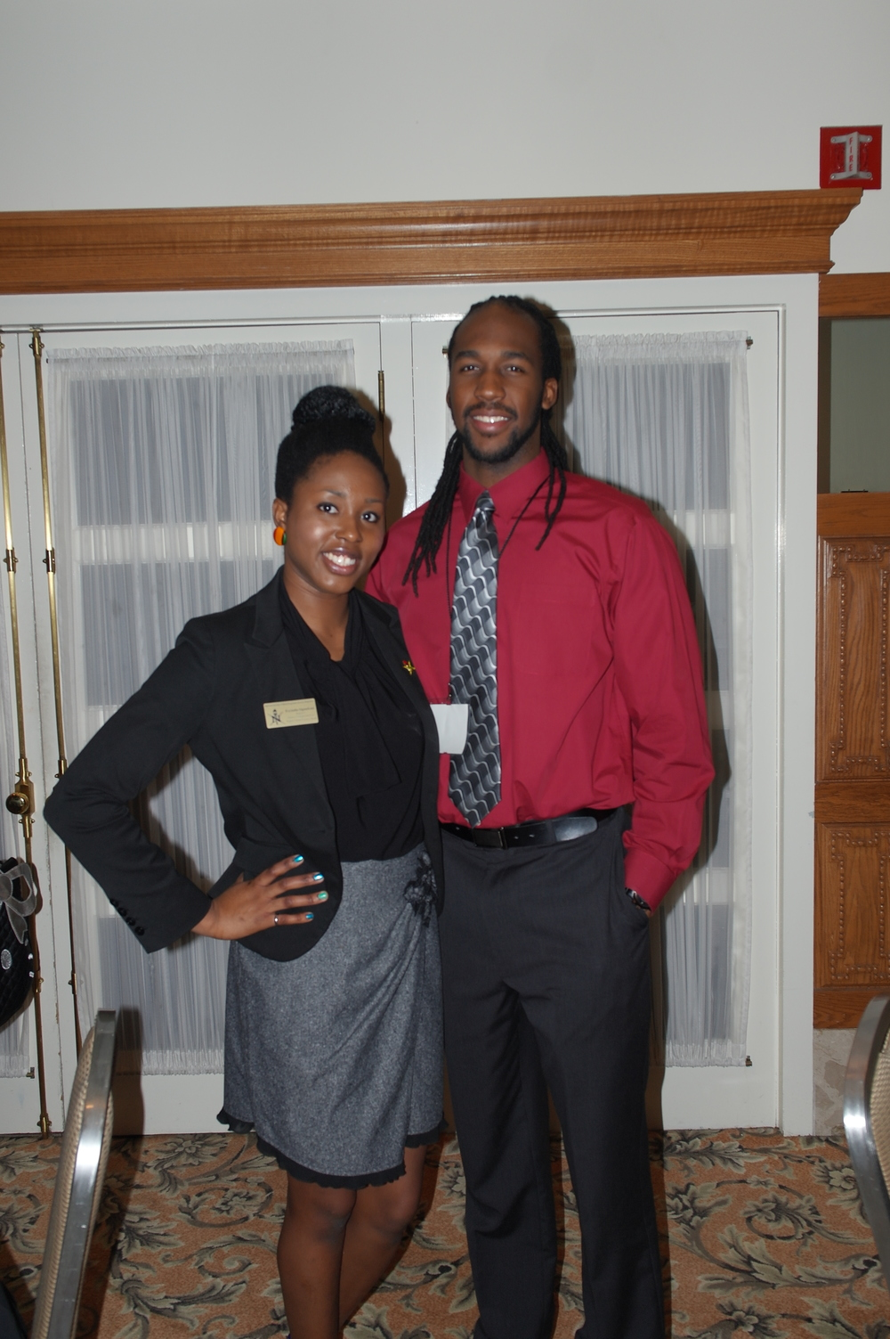 Me with my big-little brother! He's one of the graduating seniors!