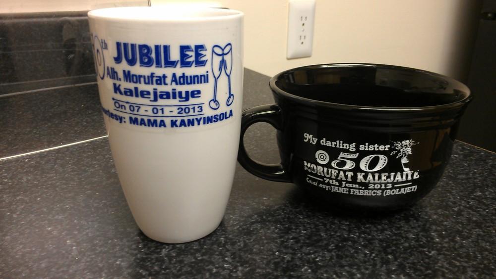 A couple of mugs