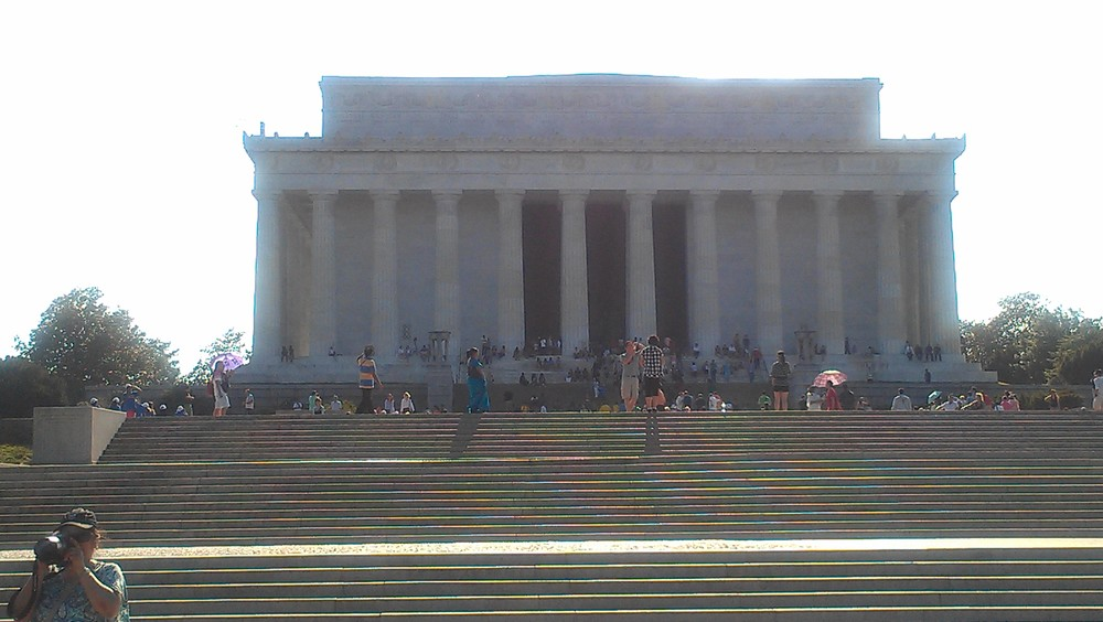 The Lincoln Memorial!