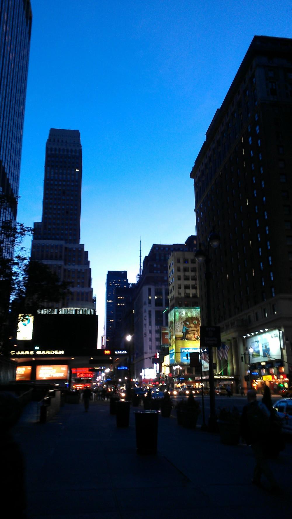 Downtown at 6am....good morning!