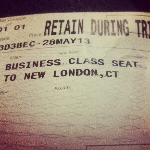 Business class baby....SMH, they owed me that though after everything else they messed up....