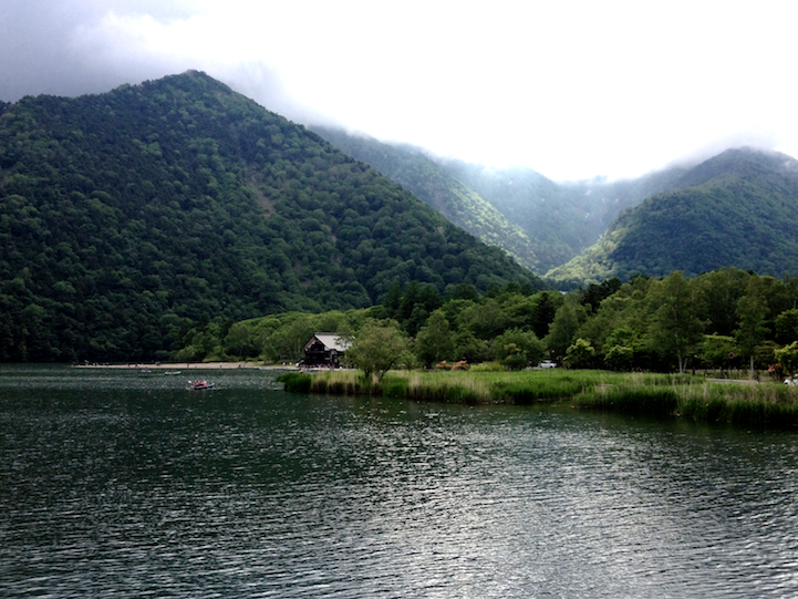 Lake Yu (yunoko) in the summer