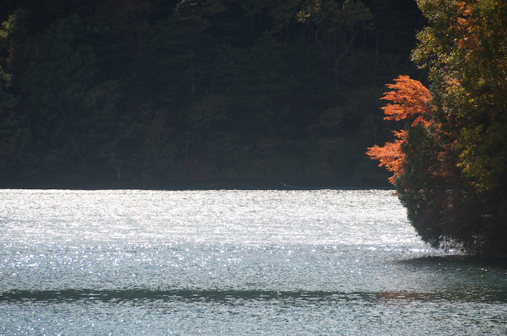 Lake Yu (yunoko) fall colors