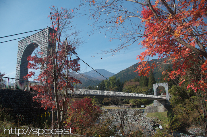 Dainichi Bridge and Autumn Leaves