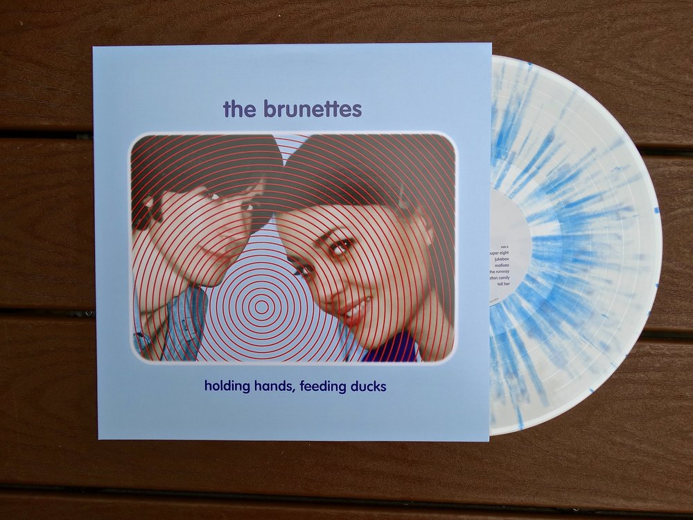 "SSR-021  The Brunettes - ""Holding Hands, Feeding Ducks""  