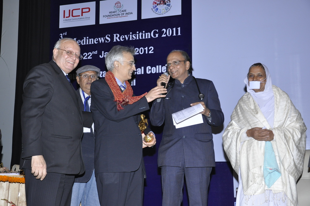 Dr. Sujay Shad;  Doctor of the year - 2011