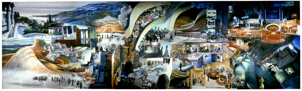 Guy Peellaert, The Gershwin Frieze, 1991. Click image to enlarge.