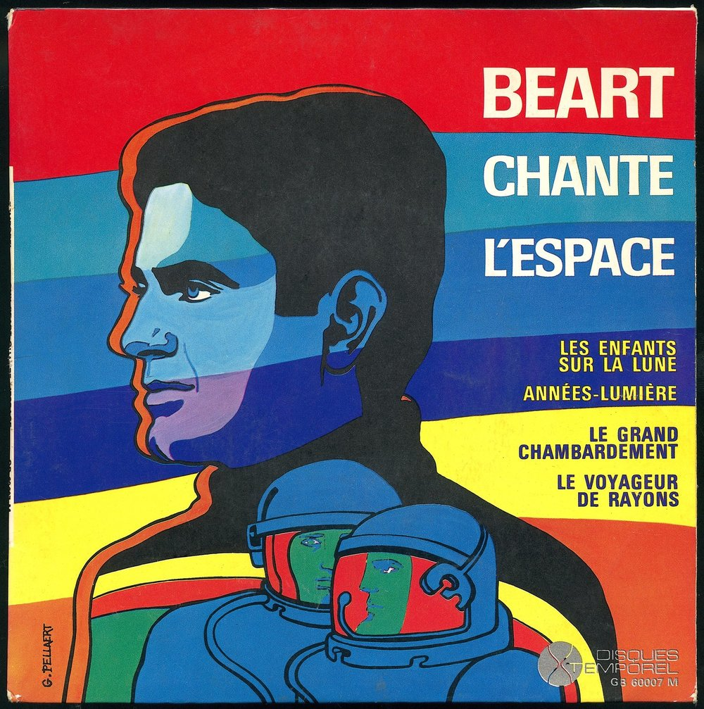 Guy Béart Chante l'Espace , by Guy Peellaert (1966)